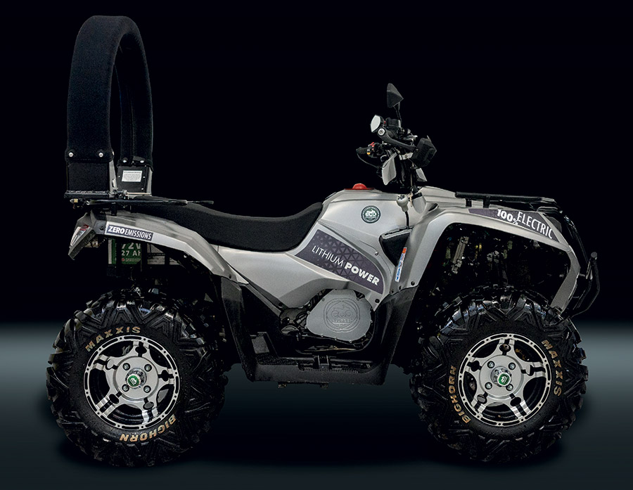 Eco Charger new all-electric quad bike