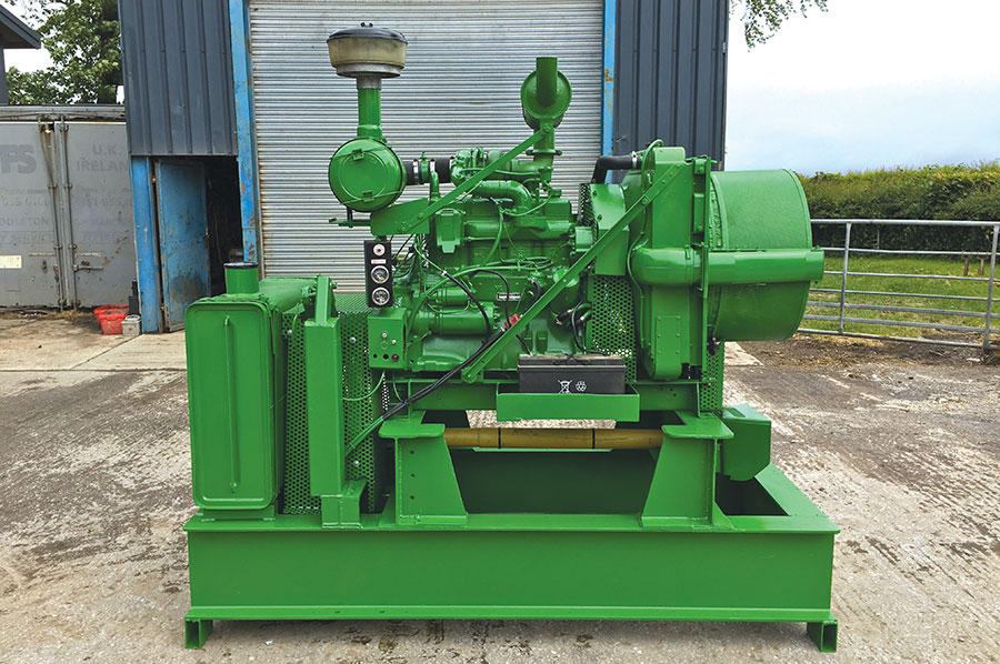 Graham Jackson's stationary engine