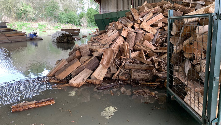 Robert Price's flooded logs