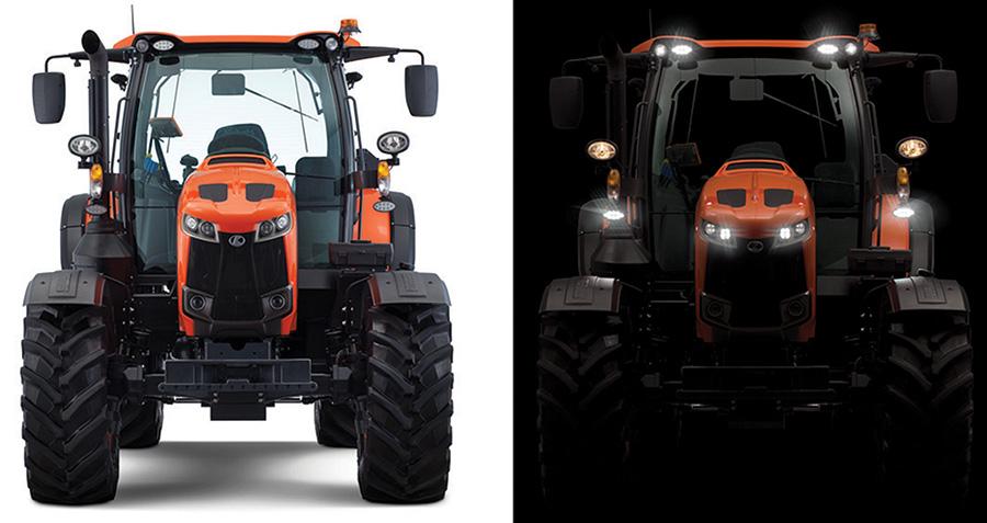 Kubota M6002 tractor
