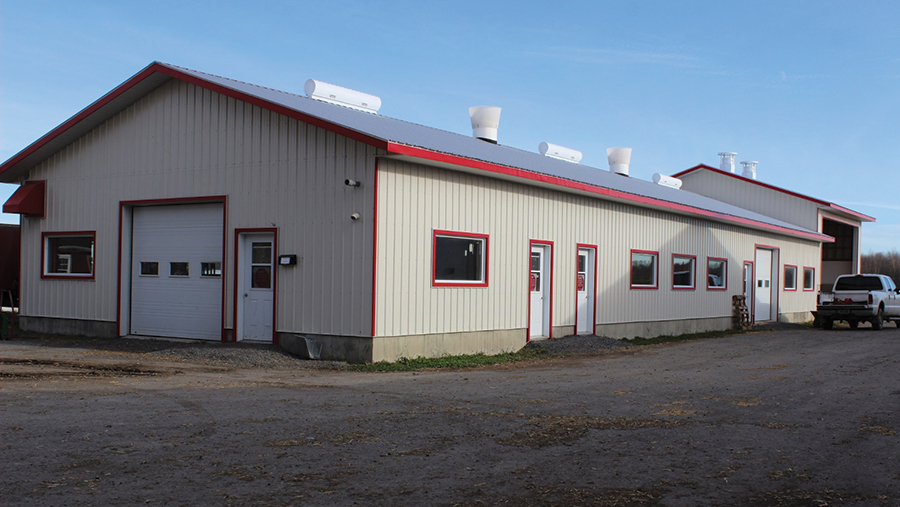 Andersons Farms' calf unit was built in 2014
