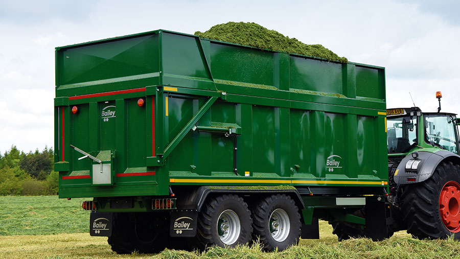 Bailey TB silage trailer
