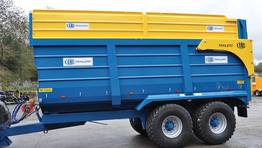 Kane silage trailer