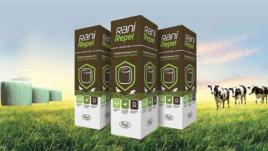 Rani Repel packaging