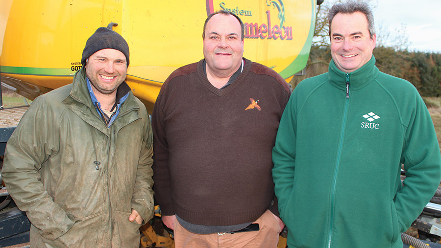 Murray Cooper, Andy Cheetham and Robin Walker