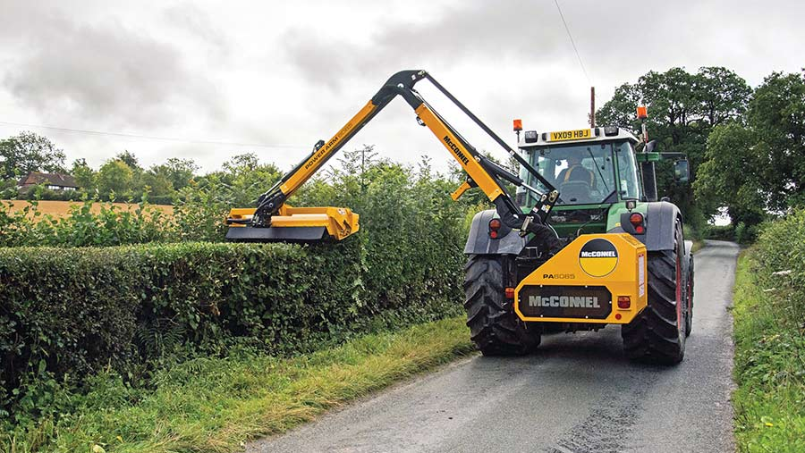McConnel PA6065 hedgecutter