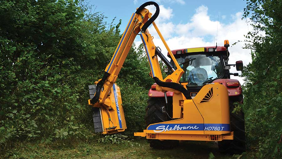 Shelbourne Reynolds Powerblade HD760T hedgecutter
