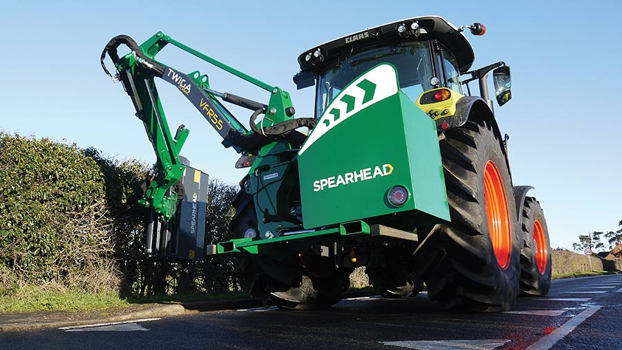 Spearhead Twiga Classic S60 hedgecutter