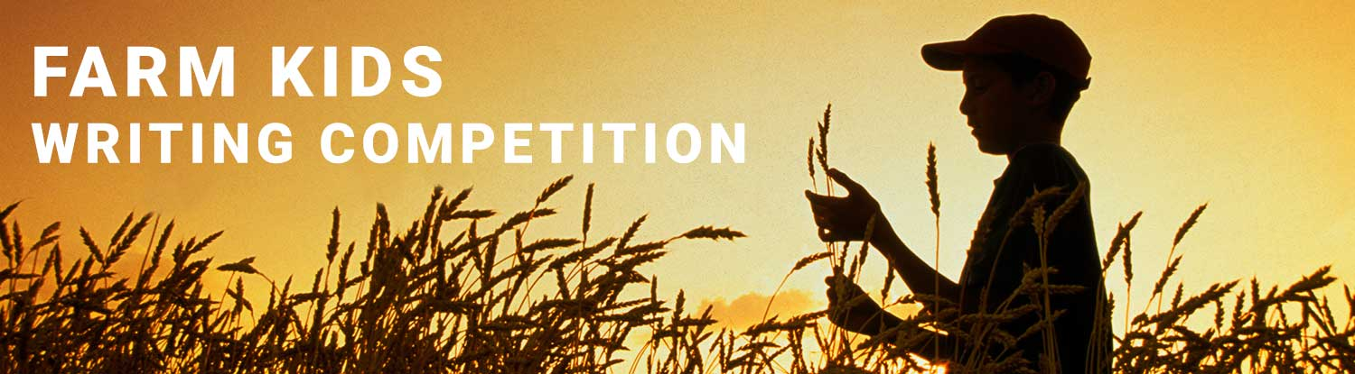 Farm kids writing competition