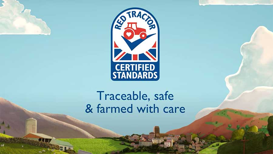 Red Tractor symbol
