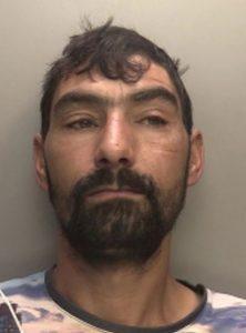 Mugshot of convicted man