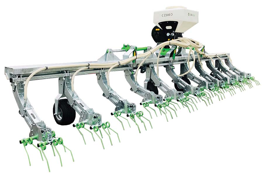 close-up of Zocon Greenseeder