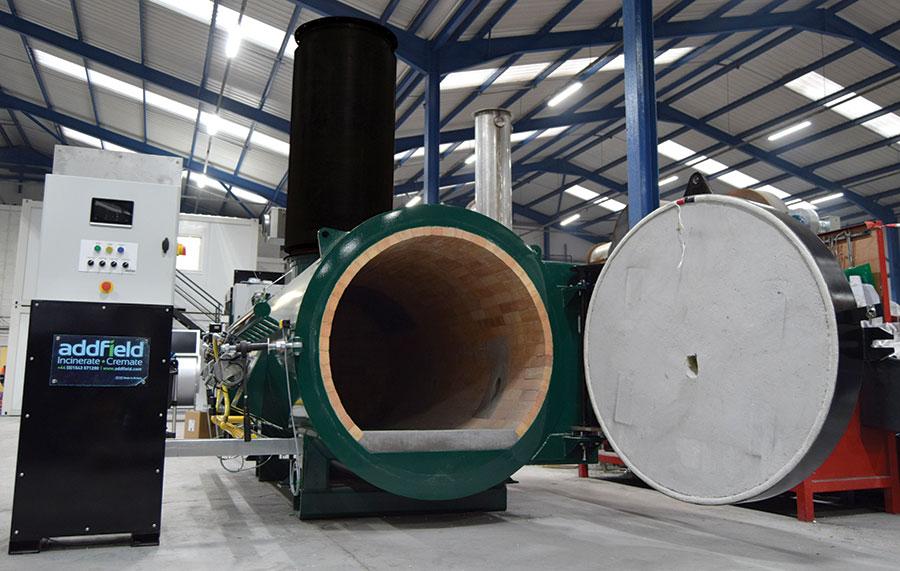 Bulk incinerator