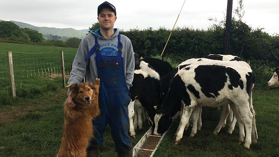 North Wales farmer Adam Jones