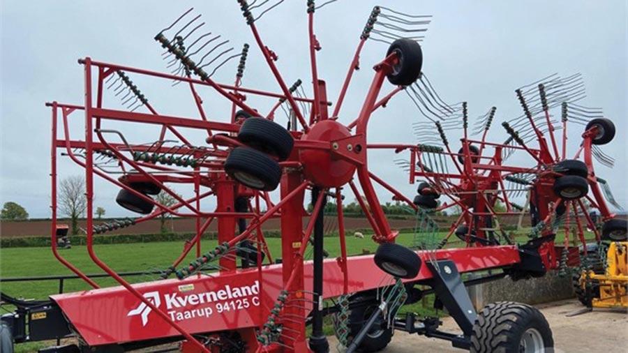 2018 Kverneland 94125 C