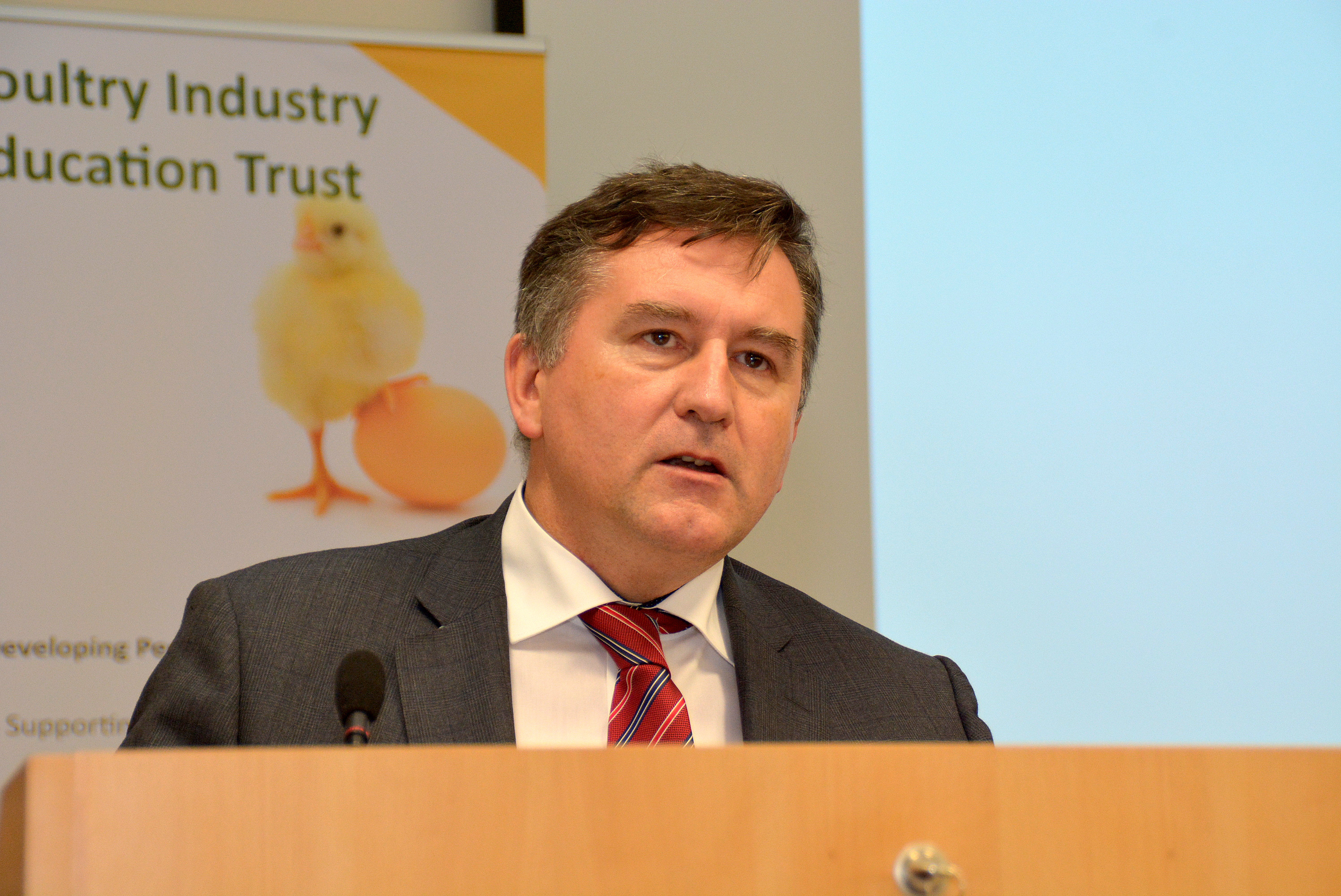 Declan Billington, CEO John Thompson & Sons and chair of Northern Ireland Food and Drink Association.