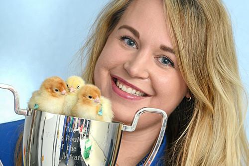 Last year's winner Jessica Martin. Photo: Jessica Martin