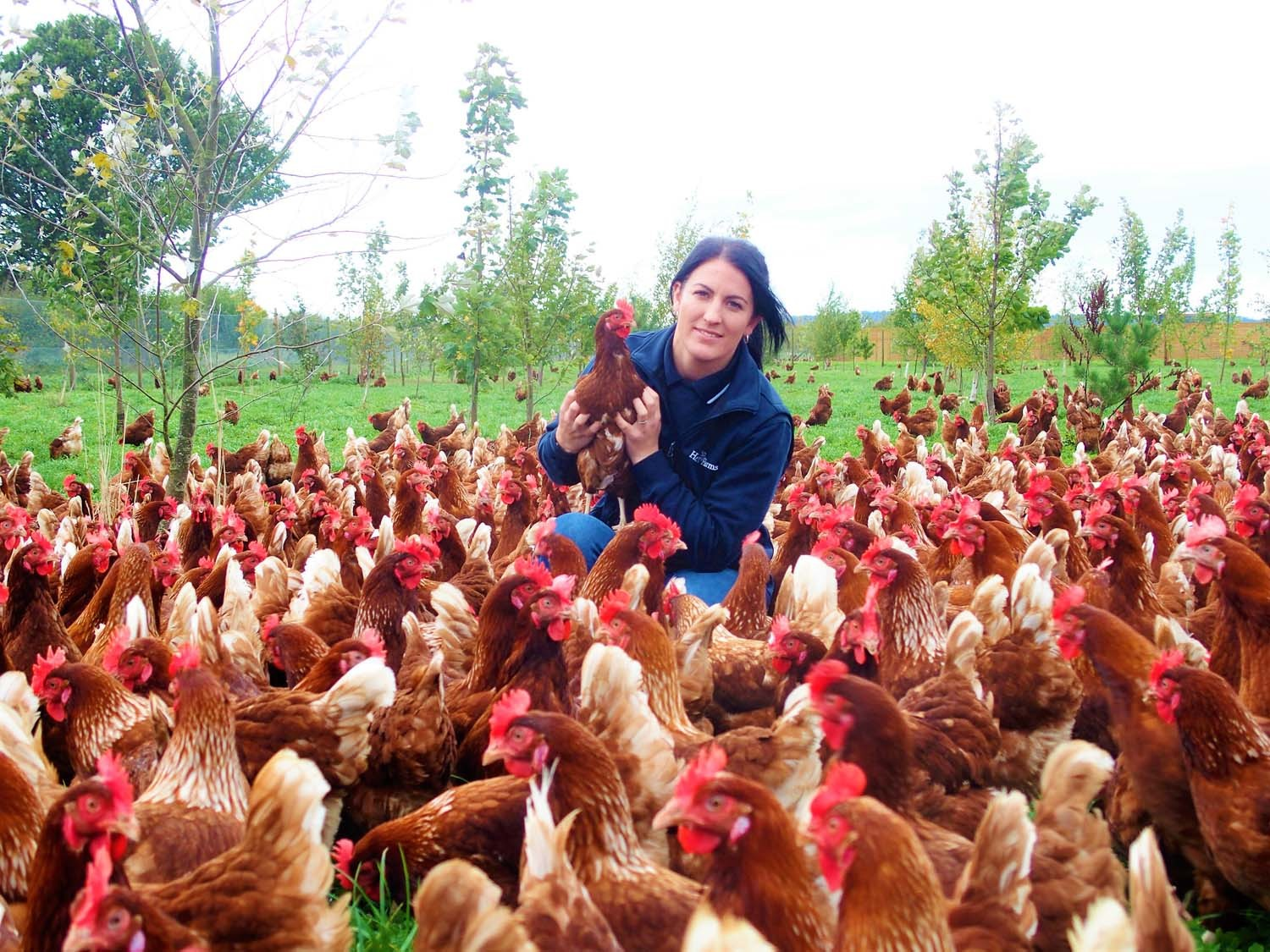 Sam says she has developed a passion for the science behind poultry farming - something she hopes to develop if she wins the training grant. Photo: Sam Alexander