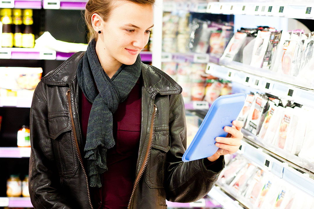 David Swales, AHDB Head of Strategic Insight, said there was a large gap between what consumers say is important and what influence their purchase in supermarkets. Photo: Voisin/Phanie/REX/Shutterstock