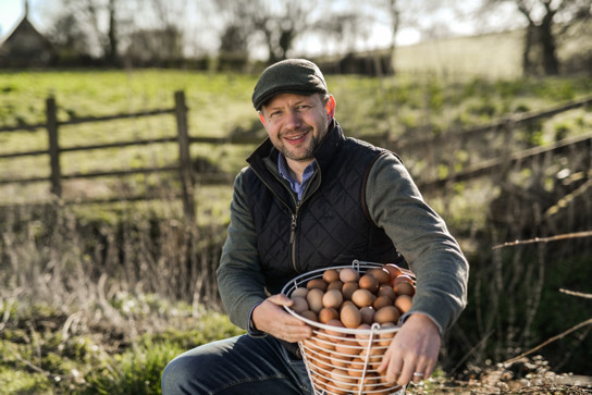 "Dan Wood, The Traditional Free Range Egg Company managing director, told Poultry World: ""Clearly, demand for free-range eggs is on the rise both in the UK and in discerning overseas markets and it is a pleasure to have the quality of our eggs recognised."" Photo: Matt Austin, Milk and More"