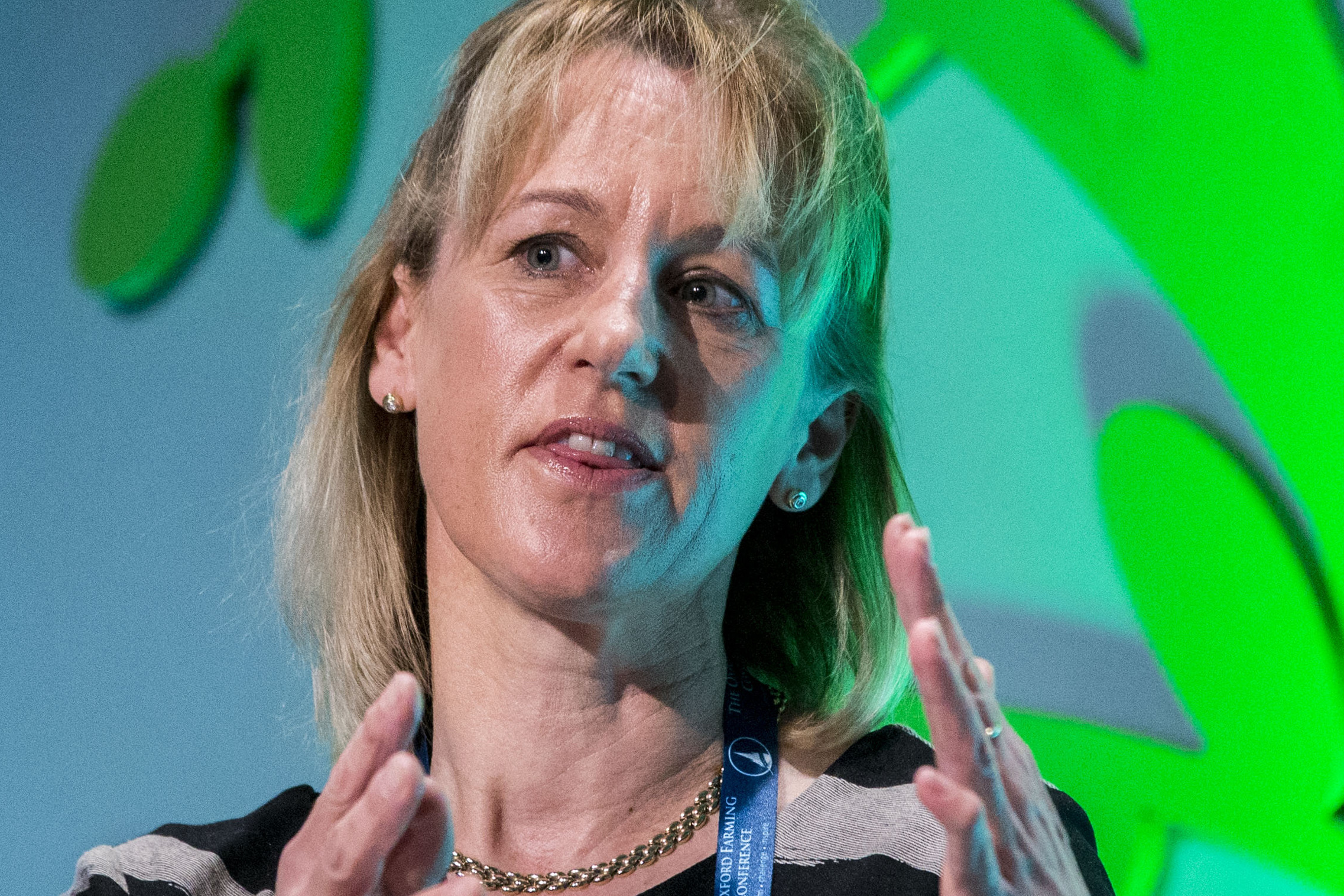 """Minette Batters, NFU deputy president: """"An abrupt reduction in the number of EU workers able to work in the UK after we leave the EU would cause massive disruption to the entire food supply chain."""" Photo: David Hartley / Rex / Shutterstock"""
