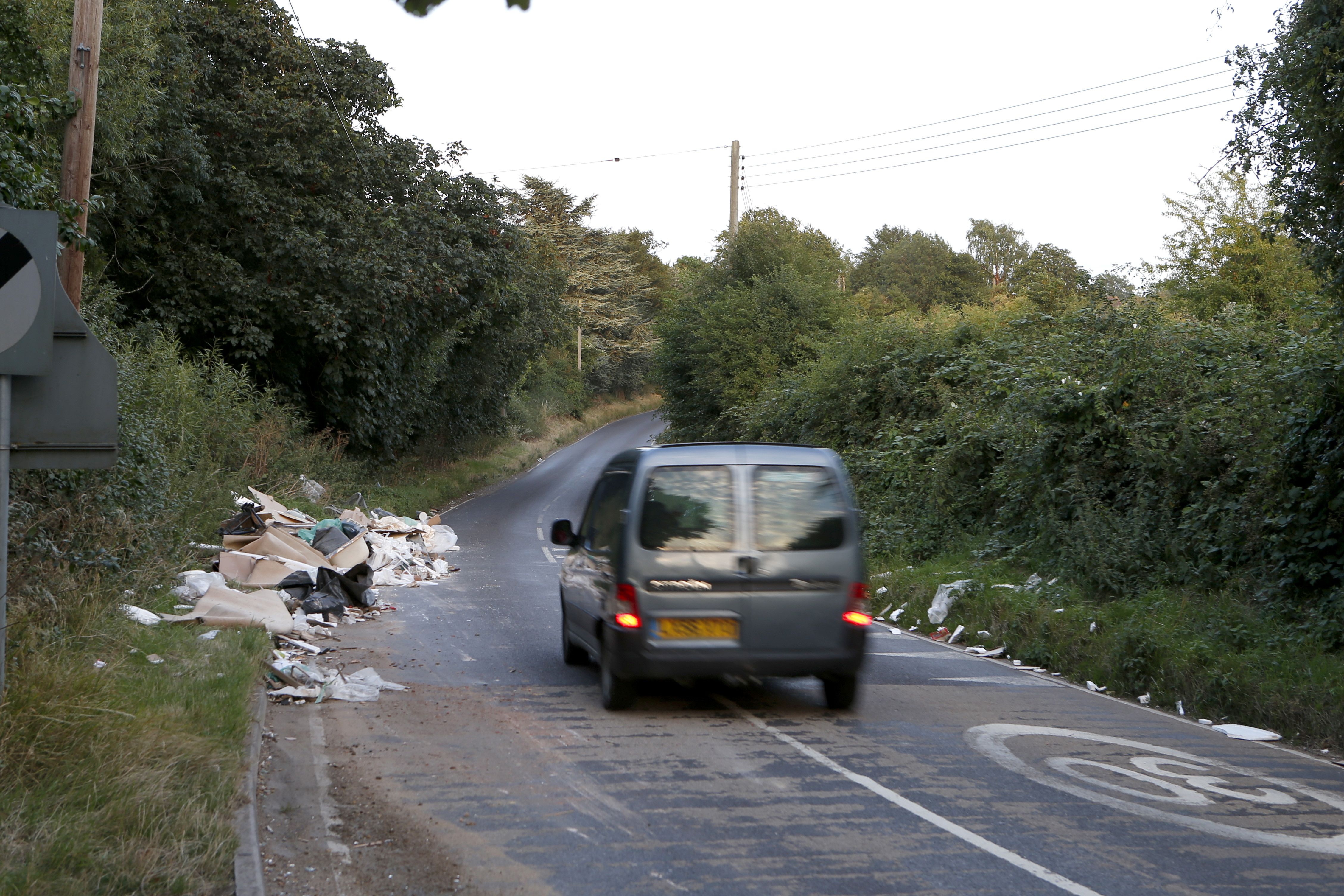 There are fixed penalties for fly-tipping that range from between £200-£400 depending on the circumstances. Photo:  Gary Hawkins/Rex/Shutterstock