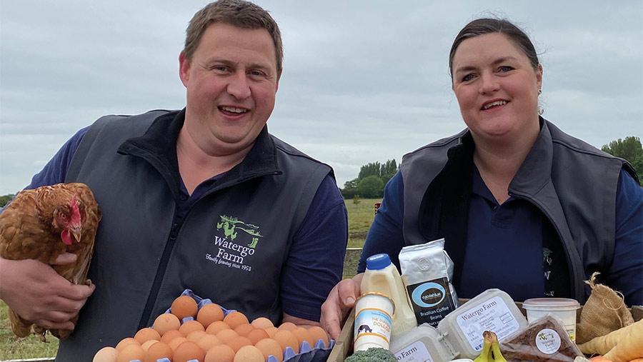 Ed and Laura Pott © Watergo Farm