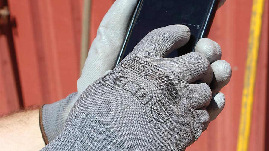 Black Rock Advance Smart Touch gloves