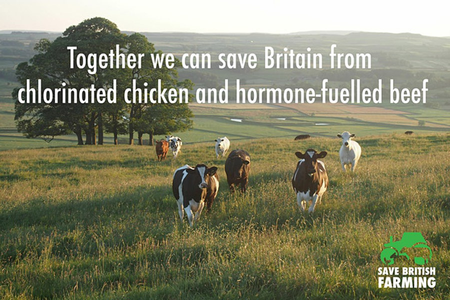 Save British Farming poster