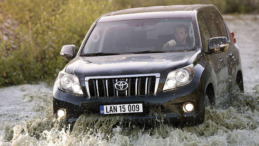 Toyota Land cruiser off road