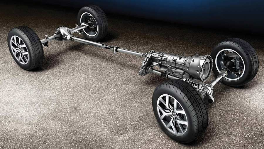VW Amarok drivetrain