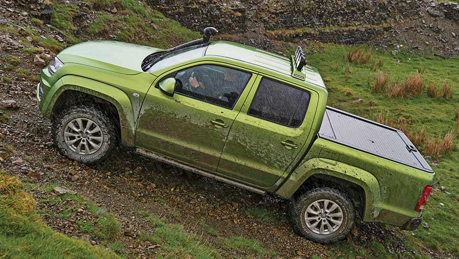 VW Amarok off-road