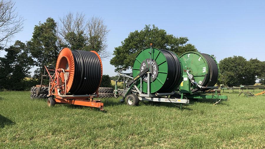 Irrigation reels