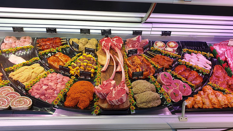 butchery counter