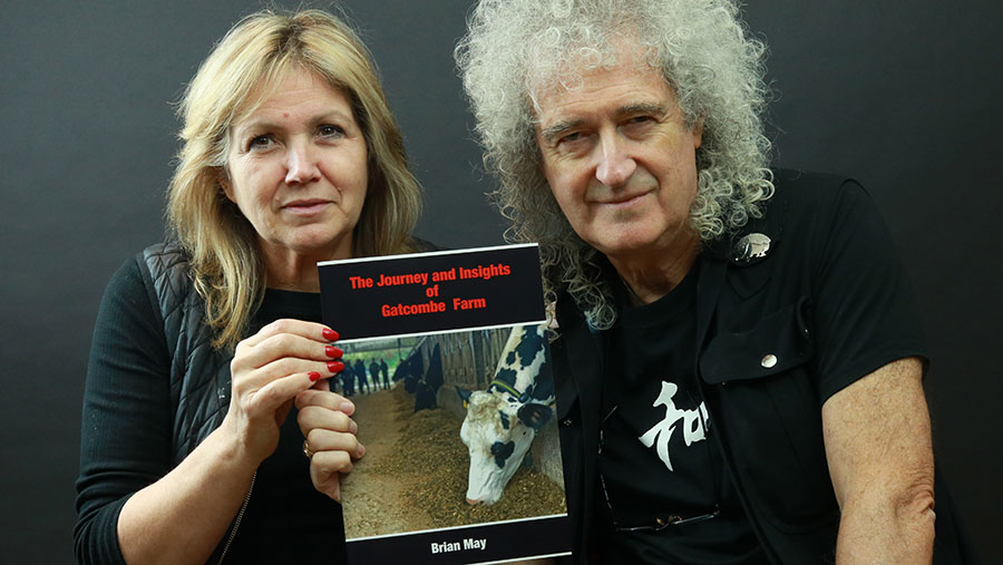 Anne Brummer, chief executive of the Save Me Trust and Brian May © Save Me Trust