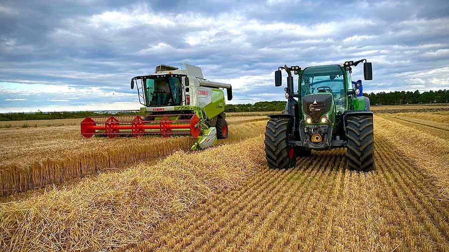 Winter barley harvest - photo by Beth Mellor
