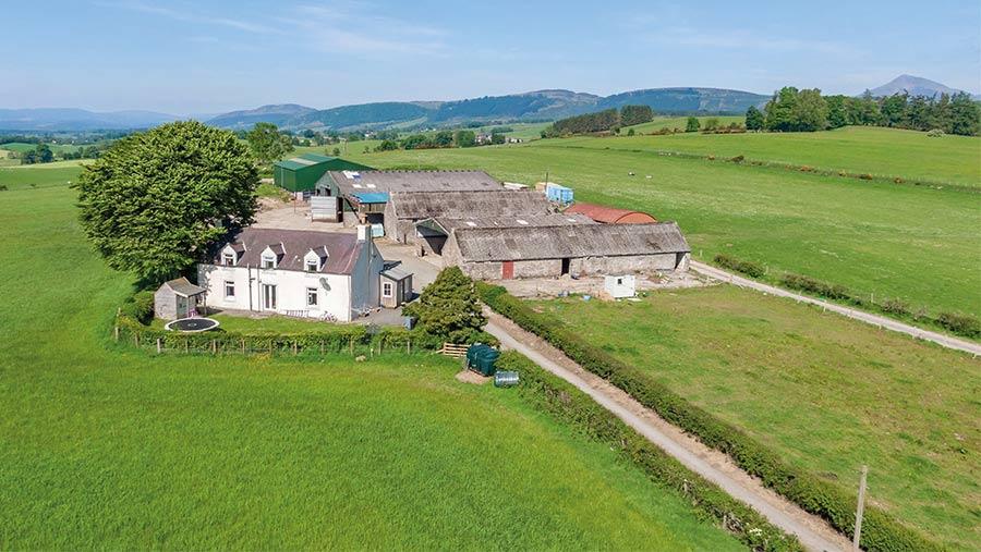 Auchensalt Farm and land