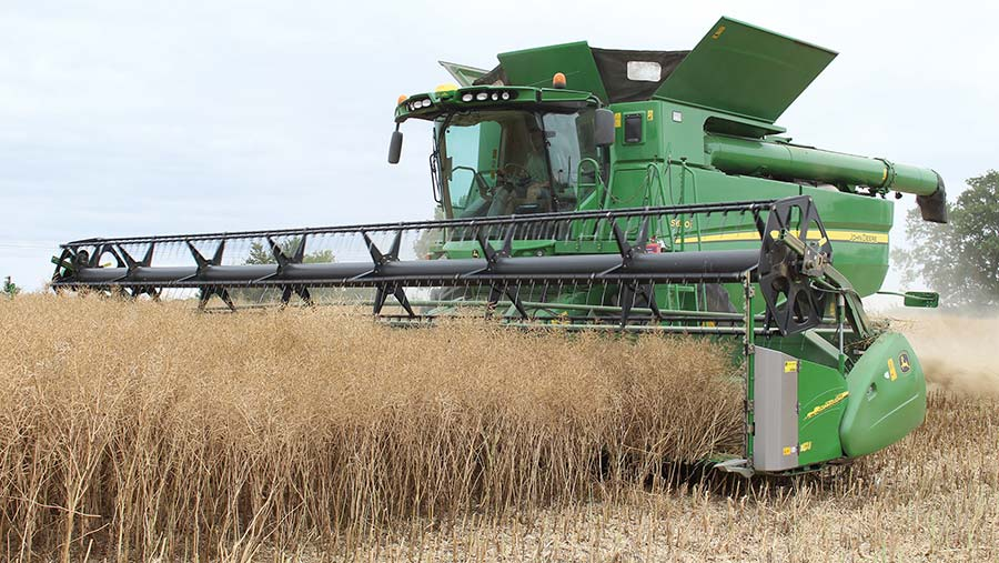 Cutting OSR