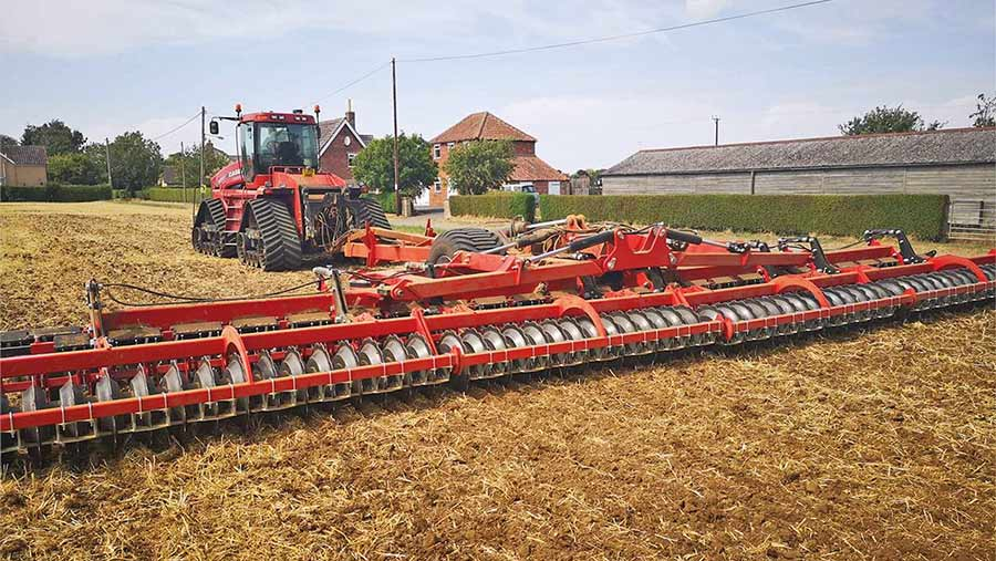 12 inch shallow cultivator