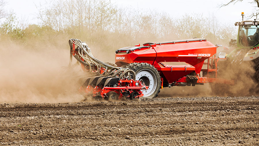 Horsch Maestro drill gets new precision metering system – Farmers Weekly