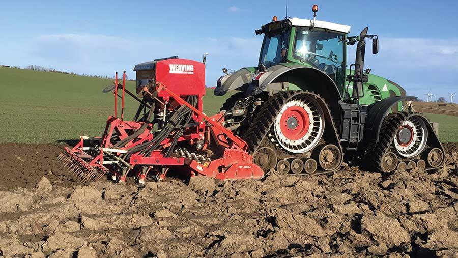£100k retrofit track kit saves the season for Durham grower