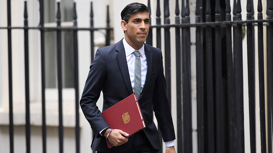 Rishi Sunak has spoken of capital gains as a type of income © James Veysey/Shutterstock