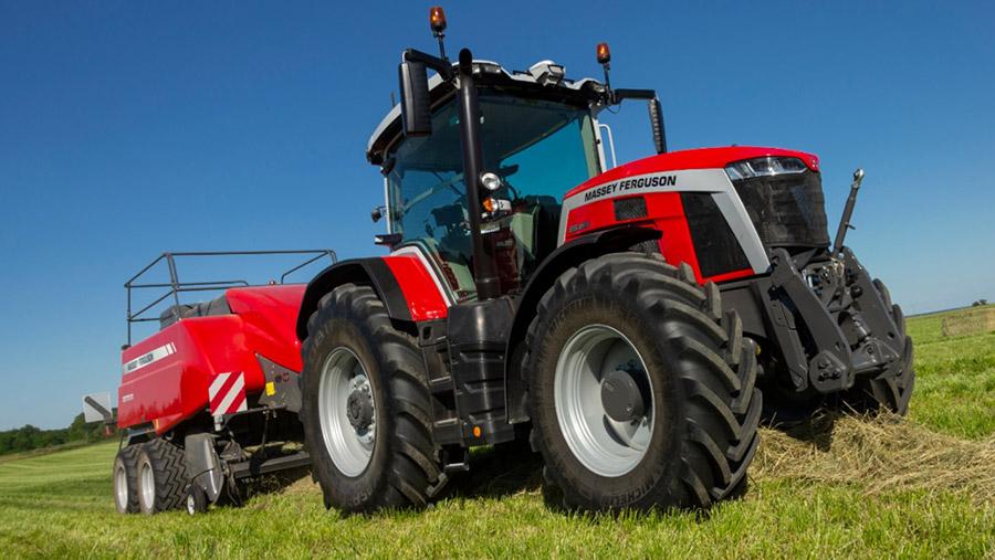 Massey Ferguson 8S tractor