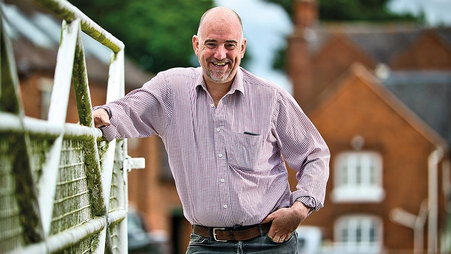 Tim Parton, Arable farmer finalist 2020 © Stanton