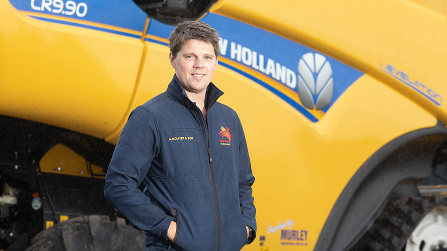 William Oliver, Arable farmer finalist 2020 © Tim Scrivener