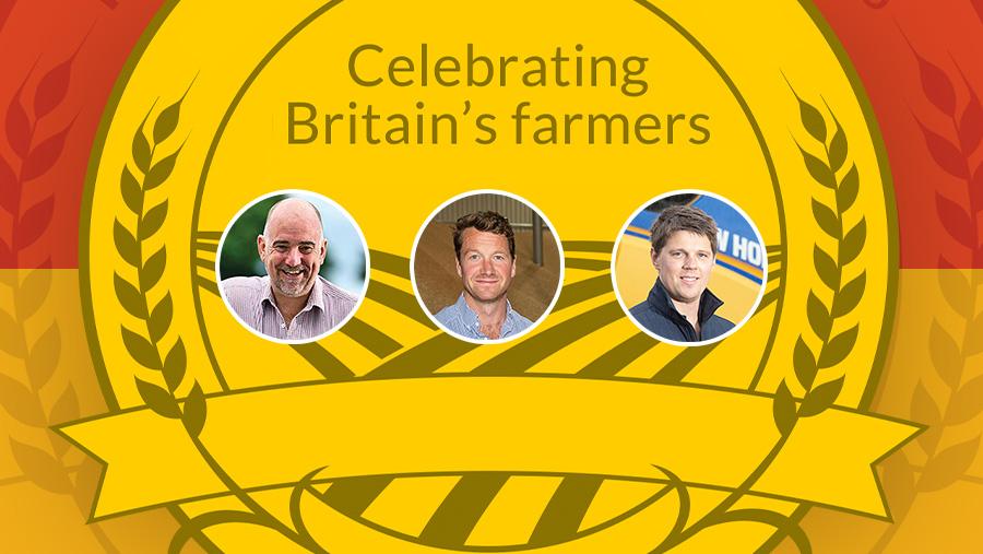 Farmers Weekly Awards: Arable farmer finalists