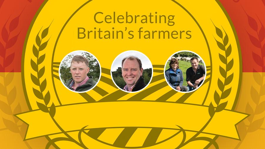 Farmers Weekly Awards: Sheep Farmer finalists
