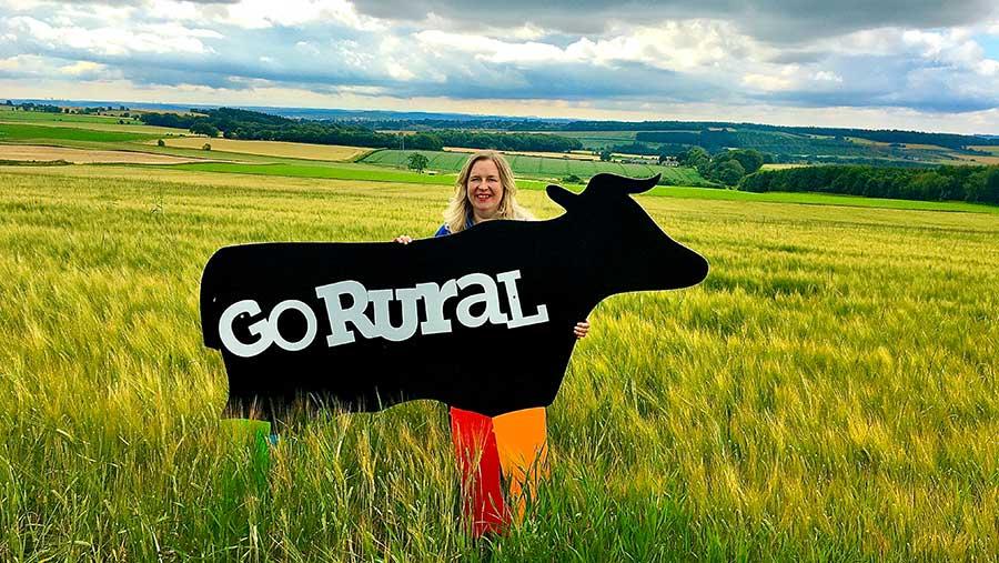 Caroline Millar says the 'Lambathon' sparked a much wider interest in Scottish farms