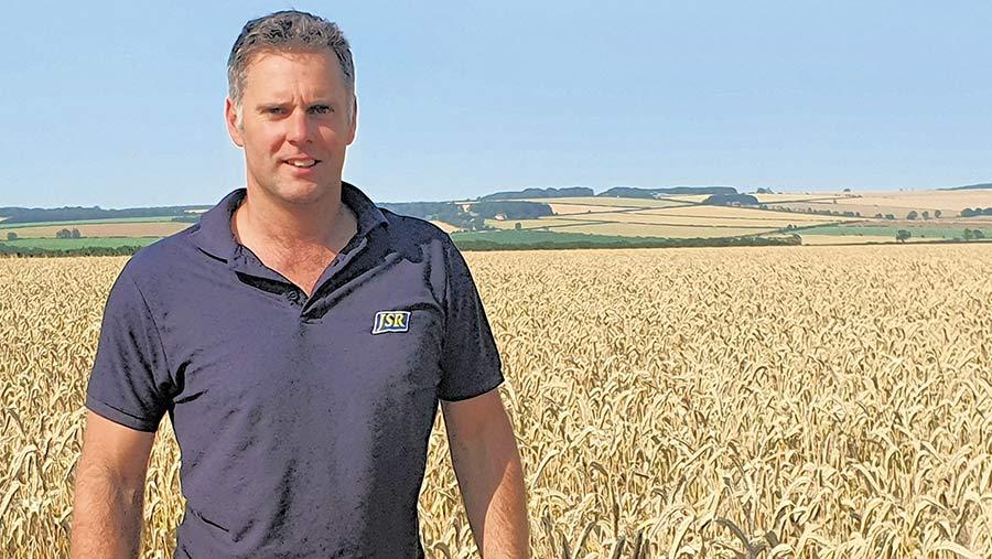 farm manager Charlie Parker