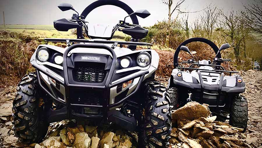 Eco-Charger electric ATV